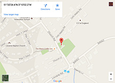St Denys Location Map